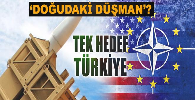 NATO'dan Türkiye'yi kuşatma tatbikatı!