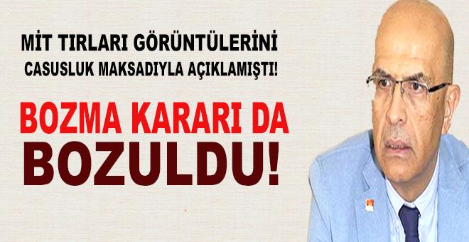 Enis Berberoğlu'yla ilgili bozma kararı da bozuldu!