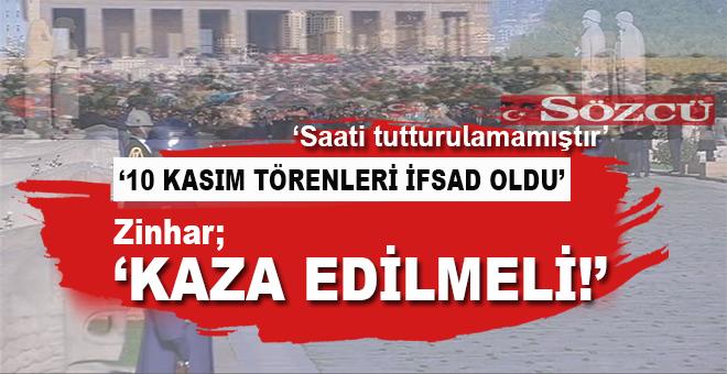 """""""Hayır, en Atatürkçü biziz!"""" 10 Kasım törenleri de kaza edilmeli!"""