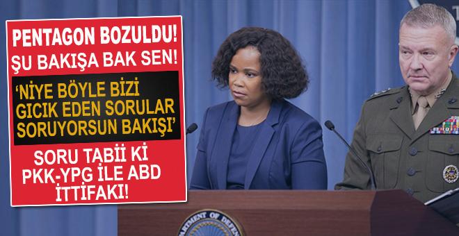 Pentagon sözcüsünden 'PKK/PYD' açıklaması