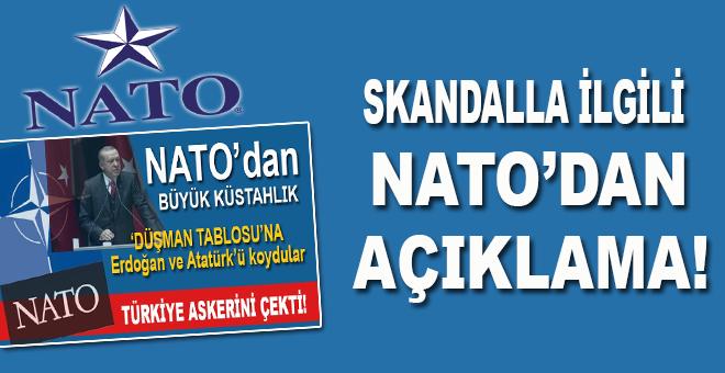 Büyük küstahlıkla ilgili NATO'dan açıklama geldi!