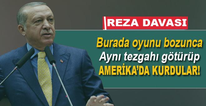 Cumhurbaşkanı Erdoğan: ABD'de tezgah kurdular!