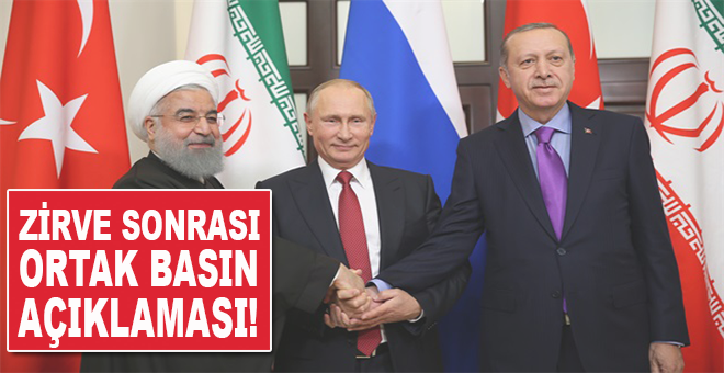 ABD'nin bütün planlarını bozacak zirve sonrası ortak basın toplantısı!