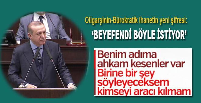 """Cumhurbaşkanı Erdoğan: """"Babamın oğlu olsa kapıdan geri koyun!"""""""
