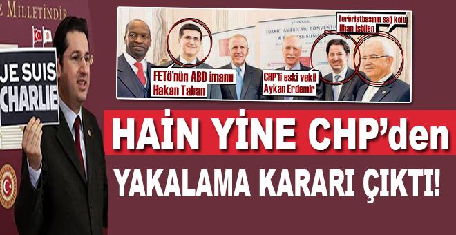 CHP'li Aykan Erdemir hakkında yakalama kararı!
