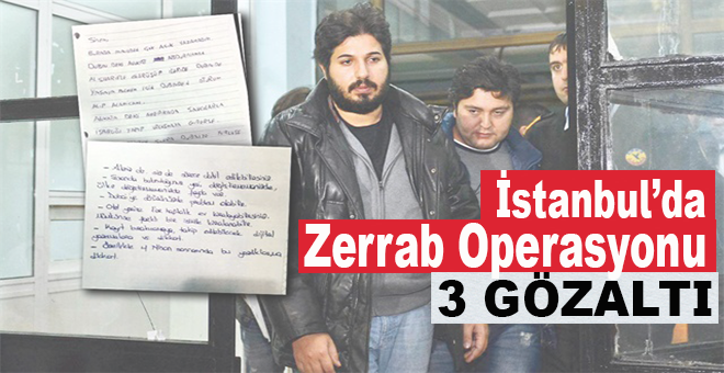 İstanbul'da Reza operasyonu!