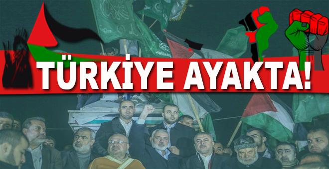 Türkiye Kudüs için ayakta!