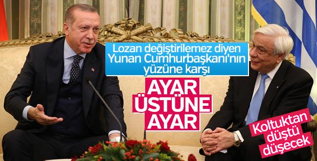 """Cumhurbaşkanı Erdoğan Atina'da... Gelelim şu """"Lozan"""" meselesine..."""