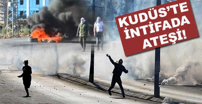 Kudüs'te intifada ateşi; Öfke Cumasında bütün Filistin ayaktaydı!
