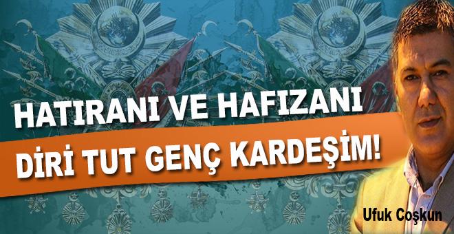 Ufuk Coşkun: Anadolu'nun benzi soluk çocukları...
