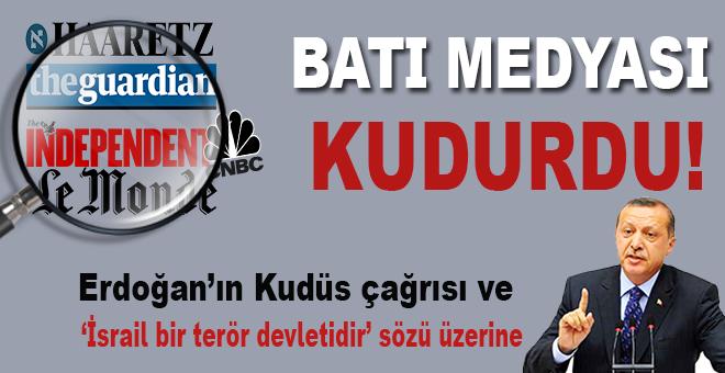 Batı ve Yahudi medyası Cumhurbaşkanı Erdoğan'ın sözlerini nasıl gördü?