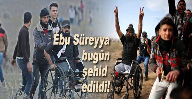 Ebu Süreyya bugün şehit edildi!
