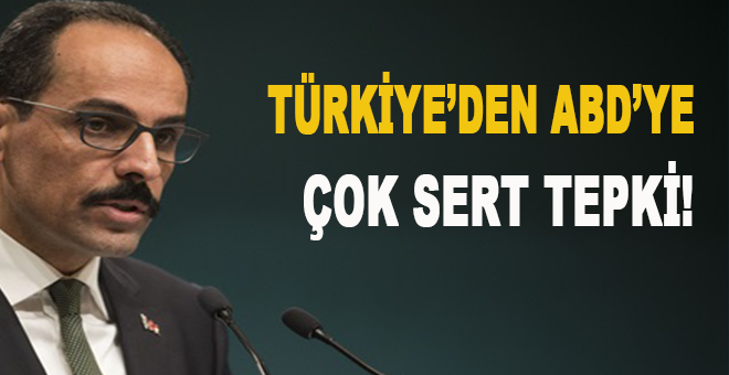 Türkiye'den BMGK'da veto edilen Kudüs tasarısına ilk tepki!