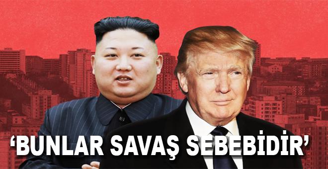 Kuzey Kore birilerini tehdit ediyorsa ABD'de birilerini işgal etmiyor mu?
