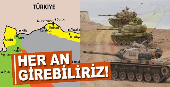 """""""Afrin'e her an girebiliriz!"""""""