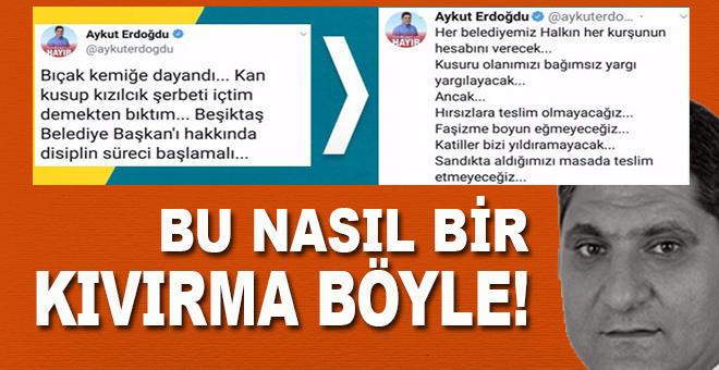 Aykut Erdoğdu'nun Murat Hazinedar kıvırması ödüle layık!