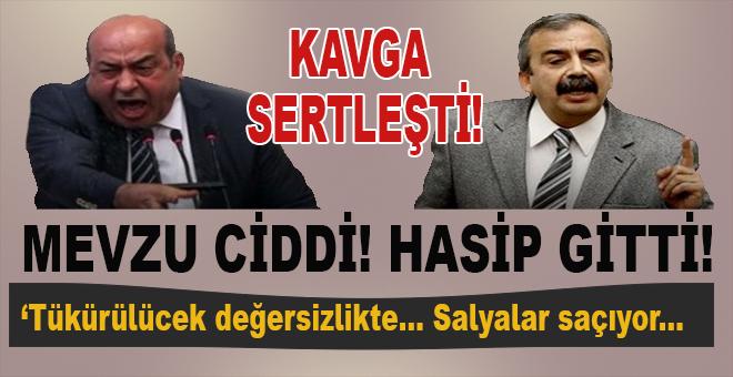 HDP'de kavga sertleşti, karşılıklı ağır sözler ve istifa!