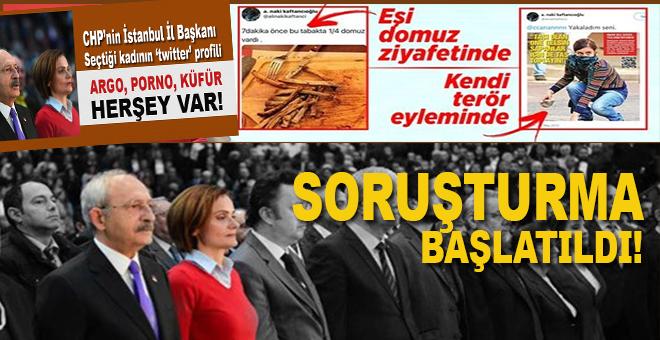 CHP İl Başkanı Kaftancıoğlu'na soruşturma!