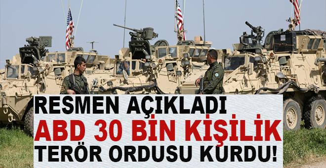 """ABD, YPG'yle """"terör ordusu"""" kurduğunu resmen açıkladı!"""