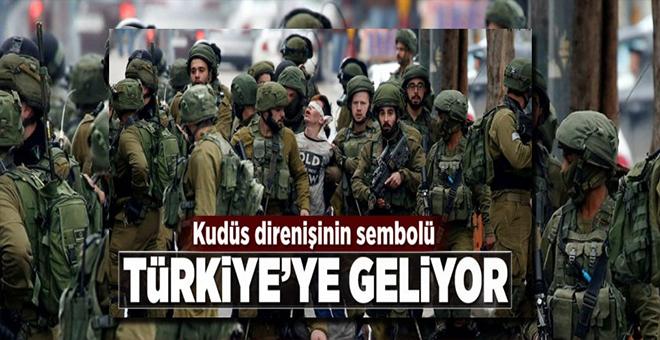 Kudüs direnişinin sembolü Filistinli Cuneydi Türkiye'ye geliyor.
