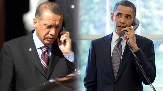 Beyaz Saray:   Başkanımız Erdoğan`la görüştü