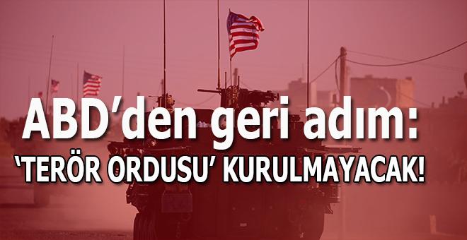 ABD'den geri adım; Suriye'de sınır gücü kurmayacak!