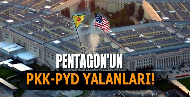Pentagon'dan PYD/PKK yalanları!