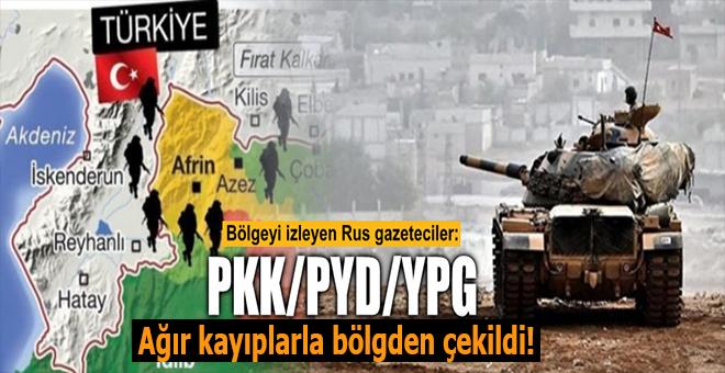 """""""İlk zafer; YPG ağır kayıplarla bölgeden çekildi!"""""""