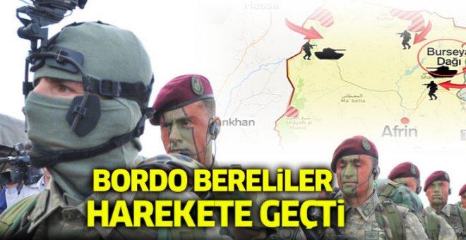 Bordo Bereliler harekete geçti!