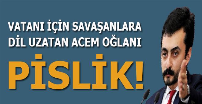 """CHP'nin """"İrancı"""" vekili vatanı için savaşanlara dil uzattı!"""