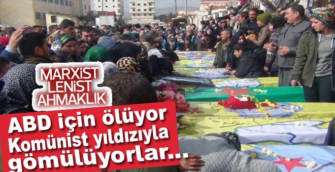 YPG'liler toplu cenaze törenleri düzenlemeye devam ediyor!