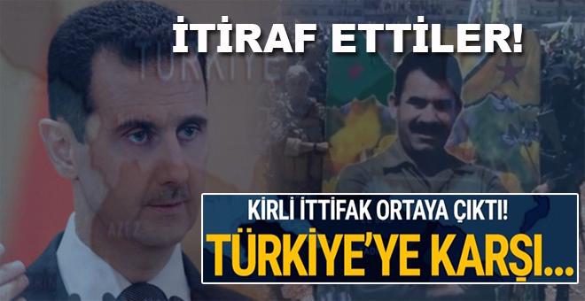 Reuters'a konuşan PKK/YPG'li teröristler işbirliğini itiraf ettiler!