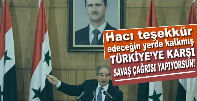 Türkiye'ye teşekkür edecekleri yerde, bir de savaş çağrısı yapıyorlar!