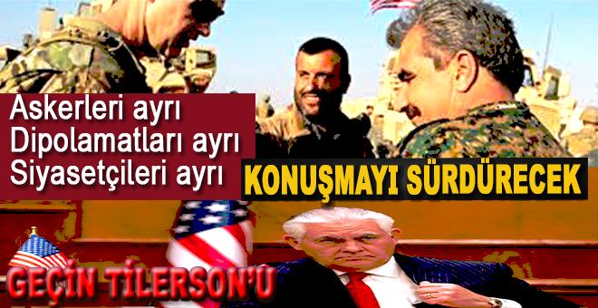"""""""Bir süre daha askerleri ayrı, diplomatları ayrı, siyasetçileri ayrı konuşmayı sürdürecek!"""""""