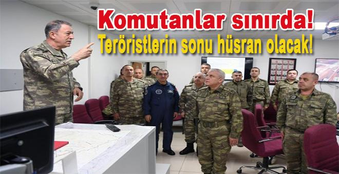 Komutanlar sınırda; Afrin operasyonu başarıyla devam ediyor!