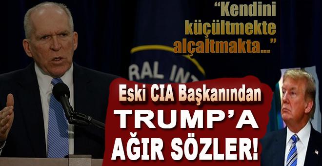 Eski CIA Başkanından Trump'a ağır sözler!