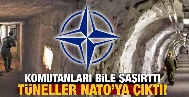 PYD tünelleri NATO'ya çıktı!