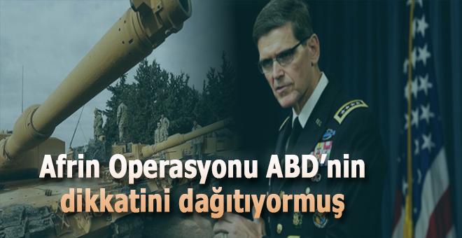 Afrin Operasyonu ABD'nin dikkatini dağıtıyormuş!