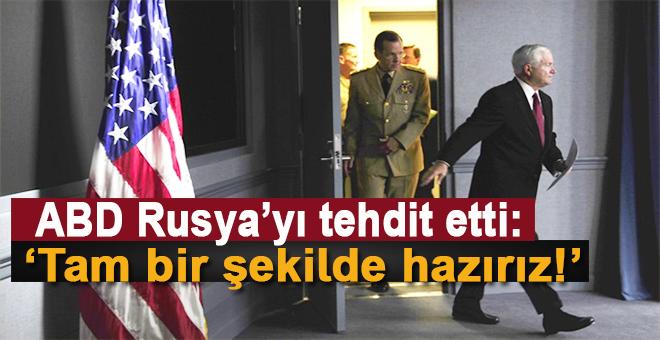 ABD Rusya'yı tehdit etti: Amerikan halkı hazır!