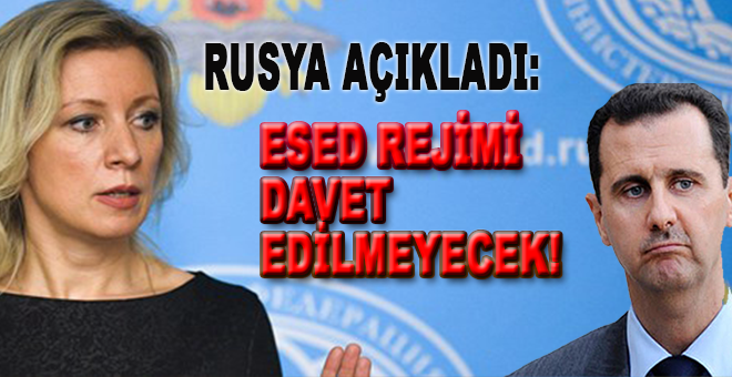 Rusya açıkladı: Esed rejimi davet edilmeyecek!