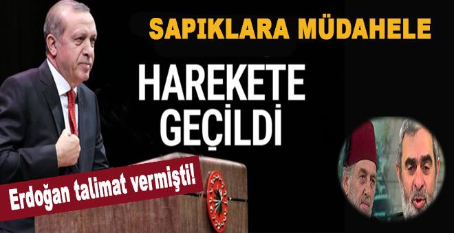 Cumhurbaşkanı Erdoğan talimat vermişti! Sapıklara müdahale!