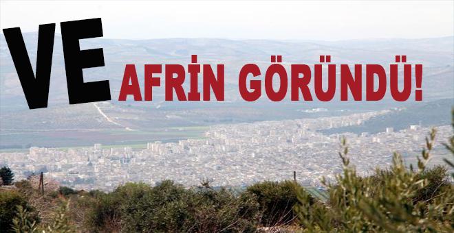 Ve Afrin göründü!