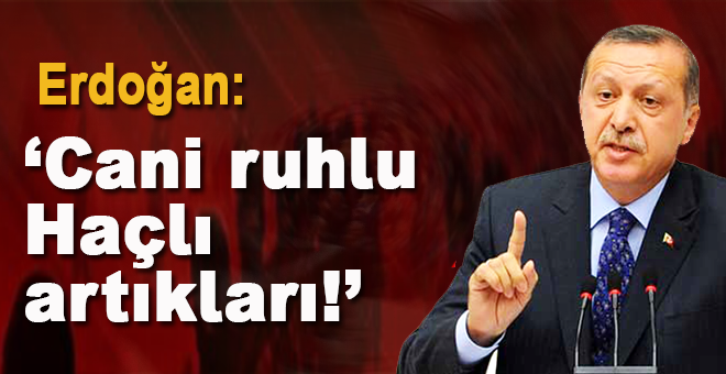 """Cumhurbaşkanı Erdoğan: """"Cani ruhlu haçlı artıkları!"""""""