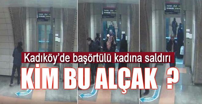 Kadıköy'de Başörtülü kadına alçak saldırı!