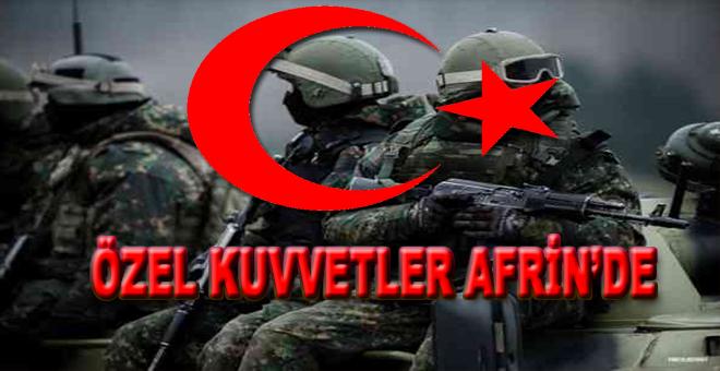 Özel Kuvvetler Afrin Merkez'de!