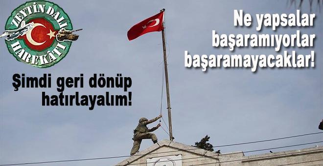 Türkiye'nin kendi güvenlik kuşağını sağlayıp ileriye bakmasını engellemek istiyorlar!
