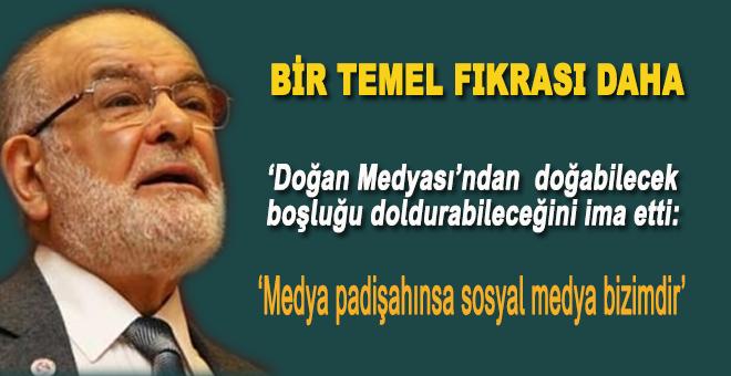 """Karamollaoğlu'ndan """"Doğan Medya"""" açıklaması!"""