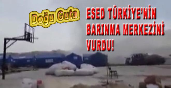 Esed rejimi Türkiye'nin barınma merkezini vurdu!