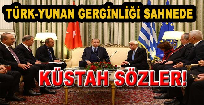 Yunanistan'dan küstah sözler; Kan dökmekten çekinmeyeceklermiş!