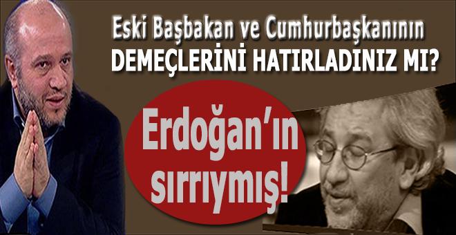 Salih Tuna; Erdoğan'ın sırrıymış...